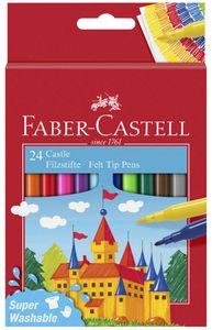 FABER-CASTELL Fasermaler CASTLE 24er Kartonetui