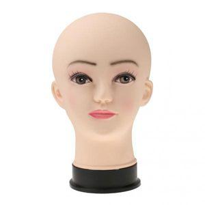 2Pcs New Polyethylen Female Mannequin Dummy Stand Modell Shop Display Head