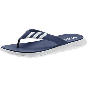 adidas Performance Herren Badelatschen Comfort Zehentrenner blau, Größe:43