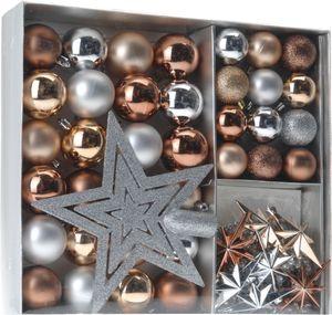 Weihnachtskugeln SHATTERproof 45 PCS - Farbe: Kupfer