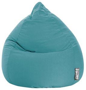 Sitzsack BeanBag Easy XL 110 x 70 cm,  Smaragd