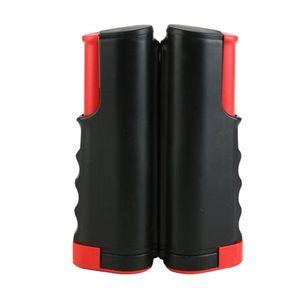 1 Stück Tischtennis-Netzträger Farbe Schwarz + Rot Typ A.