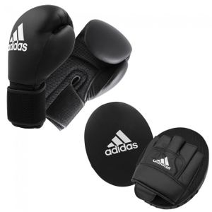 adidas Adult Boxing Kit 2 black/white, ADIBTKA02-90100