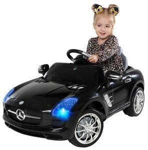 Kinder-Elektroauto Mercedes AMG SLS Lizenziert (Schwarz)
