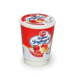 Erzi 17125 Zott Sahne Joghurt Erdbeer Panna Cotta Holz Kaufladen