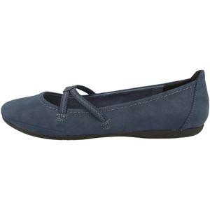 Tamaris Damen Ballerinas Slipper 1-22110-26, Größe:39 EU, Farbe:Blau