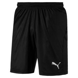 PUMA LIGA s Core Herren Fußball-Shorts Schwarz-Weiss, Größe:L