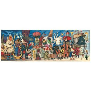 DJECO Puzzle 500 Teile Gallerie Fantasieorchester