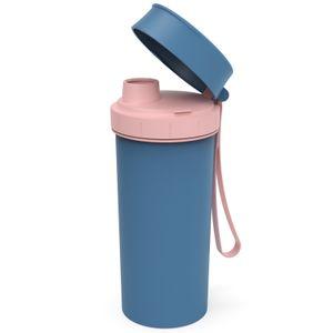Flasche 0,4 l MEMORY KIDS ohne IML, Farbe:Horizon blau