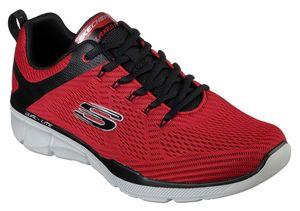 Skechers Herren Sneaker Rot Schuhe, Größe:41