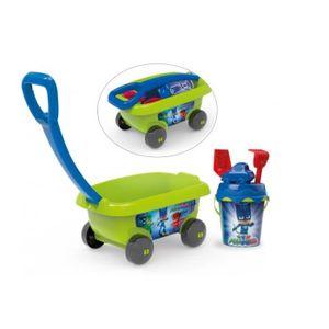 Smoby PJ Masks Handwagen mit Eimergarnitur