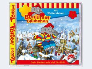 Benjamin Blümchen als Wetterelefant (1)
