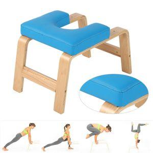 Kopfstandhocker Yogahocker Yogastuhl Inversion Bank Trainingsbank Turnhal Gym Fitness Holz
