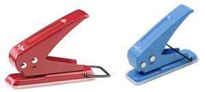 Wonday Einfachlocher auf Blister aus Metall zufällige Farbe (1 Stück)