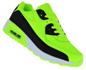 Neon Turnschuhe Schuhe Sneaker Boots Sportschuhe Luftpolstersohle Herren 039, Schuhgröße:43, Farbe:Modell 3