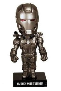 Iron Man 2 War Machine Wacky Wobbler Bobble-Head