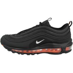 Nike Air Max 97 (GS) Kinder Sneaker Schwarz/Orange/Silber (DD3238 001) Größe: 38,5