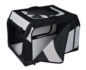 Vario Transportbox Gr. L TRIXIE schwarz/grau 99x67x71/61cm