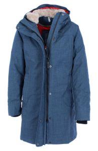 Elkline Apresski Damen Outdoor-Wintermantel NACHHALTIG RECYCELT, Deutsche Größen:50, Elkline Farben:Bluegrey