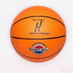 Highliving® Basketball Gr 7 Indoor-Outdoor Rutschfeste Gummioberfläche