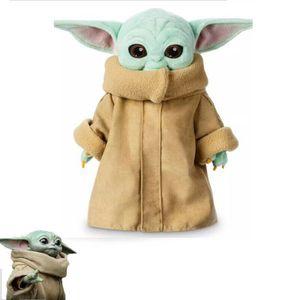 30cm Baby Yoda Plüschtier, Das Mandalorianische Kraftgefüllte, kreatives Geschenk puppe