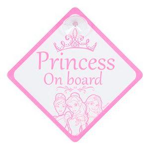 Disney Princess Bordje Baby On Board.
