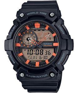 Casio Herren-Armbanduhr Analog/Digital Quarz mit Resin Armband AEQ-200W-1A2VEF