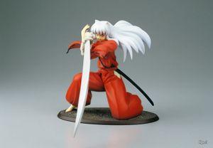 Anime INUYASHA Warring States Otokoe Tenseiga Figure Model Toys 19cm