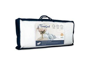 DormiGood |  Premium Daunenkissen | 40x80 cm | Daunen | Kissen | 40x80 | Kopfkissen | Allergiker geeignet | Nomite | Downpass