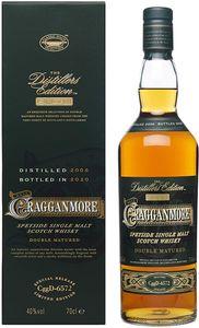 Cragganmore Distillers Edition 2008-2020 Speyside Single Malt Scotch Whisky 0,7l, alc. 40 Vol.-%