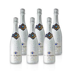 Blanc Demi - Sec - ICE – François Montand  - Méthode Traditionelle, Paket mit:6 Flaschen