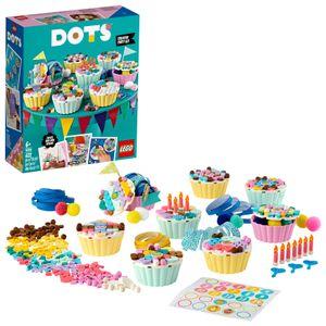 LEGO 41926 DOTS Cupcake Partyset mit Cupcakes, Geburtstagsgeschenk Set, DIY-Projekte, Kunst und Handwerk für Kinder