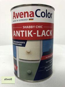 Avena Shabby Chic Antik Lack 1 Liter altweiß Vintage Farbe
