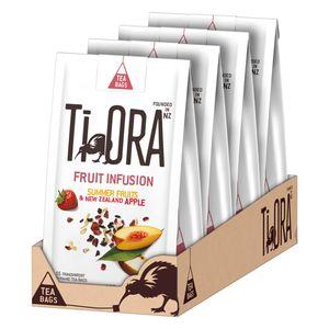 Ti Ora Früchtetee FRUIT INFUSION Summer Fruits Apfel Neuseeland 60 x 2 g Beutel