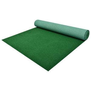 dereoir Kunstrasen mit Noppen PP 2 x 1 m Grün