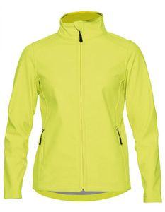 Damen Hammer Ladies Softshell Jacket - Farbe: Safety Green - Größe: 4XL