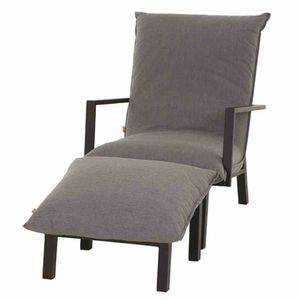 SIENA GARDEN Lounge-Set Rockford matt anthrazit / grau J03952