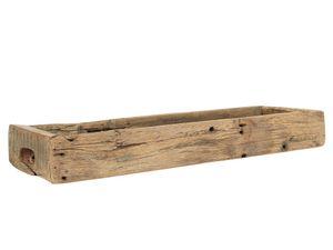 IB Laursen Holzkiste Länglich mit Griffen UNIKA 60 cm
