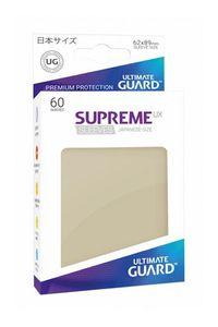 Ultimate Guard Supreme UX Sleeves Japanische Größe Sand (60)