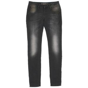 20955 Gang, Nena Skinny,  Damen Jeans Hose, Sweatdenim, grey used, W 25 L 32