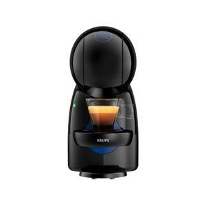 Krups Kaffeekapselmaschinen Nescafe Dolce Gusto Piccolo XS, Farbe:Schwarz/Blau, KP 1A01