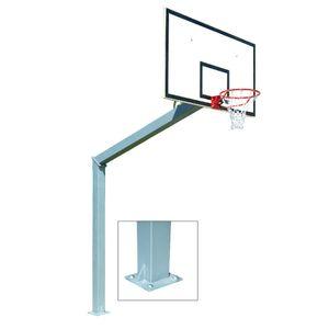 Outdoor-Basketballtor mit 3,05 m Power Shot-Fuß