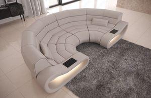 Big Sofa Concept Leder beige