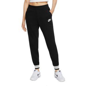 Nike W Nsw Hrtg Pant Flc Black/Grey Fog/White L