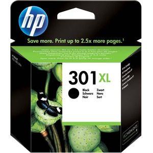 HP 301XL Tintenpatrone - Schwarz Original - Doppelpack - Tintenstrahl - 2er Pack