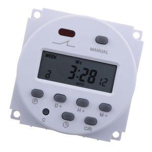 dc 12v digital lcd programmierbare timer relais zeit der wöchentlichen elektronischen