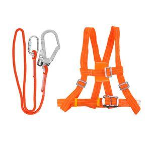 Outdoor 5 Punkt Klettern Brustgurt  Rettung Mit Seil Einstellbar L + 5m