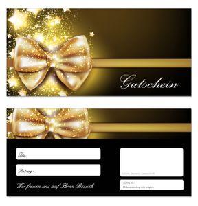 50 Geschenkgutscheine (Sterne-660) - Ein schönes Produkt für Ihre Kunden Gutscheine Gutscheinkarten für Bereiche wie Geschenke, Geburtstag, Freizeit, Wellness, Feier, Jubiläum, Winter, Weihnachten