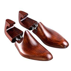 Hölzerne Frauen GIrl\'s Ladis Männer Schuh Schuhe Tree Stretchers Keeper Größe 39-40 Einstellbar Holzschuhbäume Rotes Holz