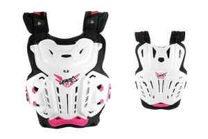 Leatt Chest Protector 4.5 White-Pink One Size